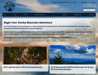 smokiesadventure.com screenshot
