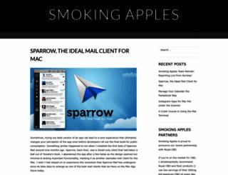 smokingapples.com screenshot
