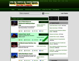 smokysavers.com screenshot