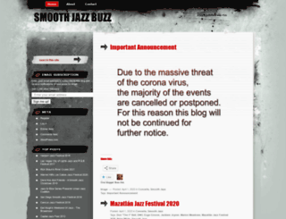 smoothjazzbuzz.wordpress.com screenshot