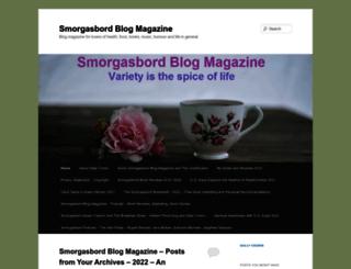 smorgasbordinvitation.wordpress.com screenshot