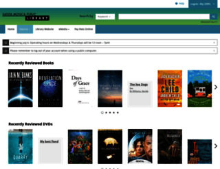 smpl.bibliocommons.com screenshot