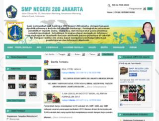 smpn280jkt.sch.id screenshot