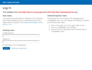 smr.pelco.com screenshot