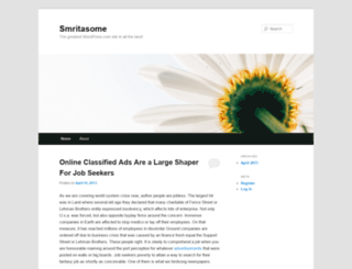 smritasome.wordpress.com screenshot