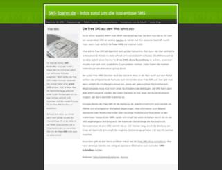sms-sparer.de screenshot