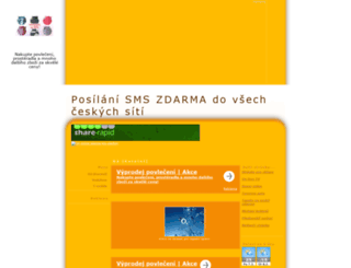 sms.7x.cz screenshot