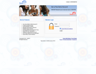 sms.beep7.com screenshot