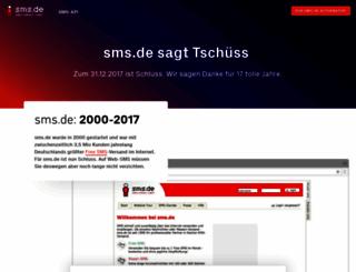 sms.de screenshot
