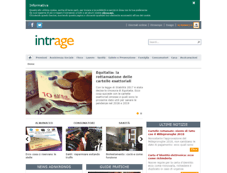 sms.intrage.it screenshot