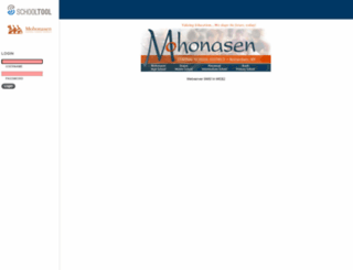 sms.mohonasen.org screenshot