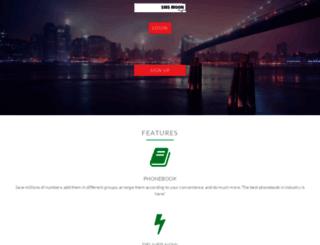 sms.smsmoon.com screenshot