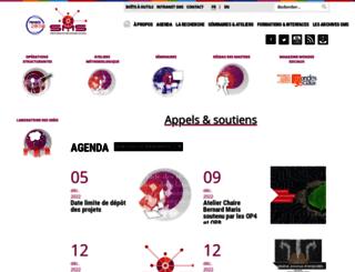 sms.univ-tlse2.fr screenshot