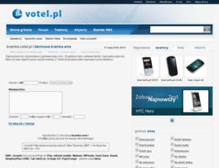sms.votel.pl screenshot