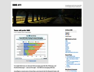 sms411.net screenshot
