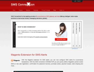 smsconnexion.com screenshot