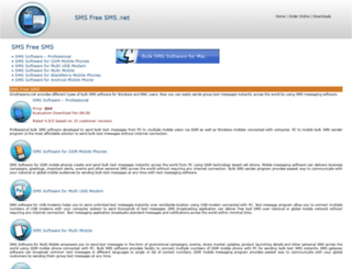 smsfreesms.net screenshot