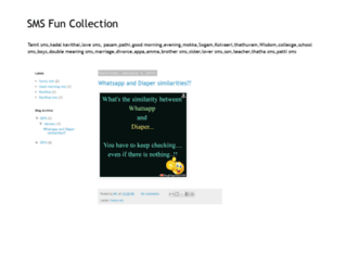 smsfuns.blogspot.com screenshot