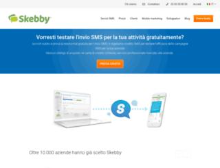 smsgratis.skebby.it screenshot