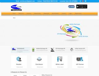 smslinkworld.com screenshot