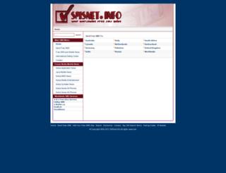 smsnet.info screenshot