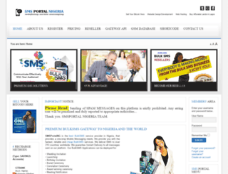 smsportalng.com screenshot