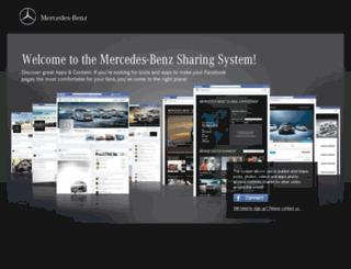 smss.mercedes-benz.com screenshot