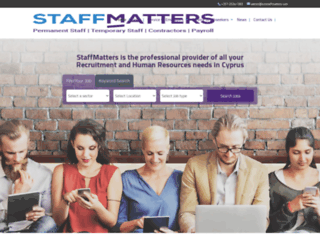 smstaffmatters.com screenshot