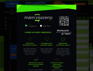 smsvysledky.cz screenshot