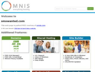 smswanted.com screenshot