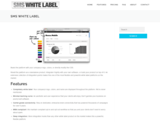 smswhitelabel.com screenshot