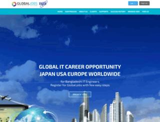 smtp.globaljobsbd.com screenshot