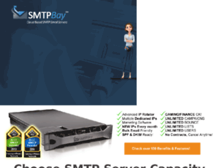 smtpbay.com screenshot