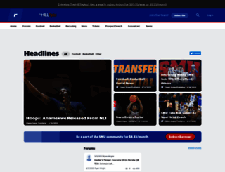 smu.rivals.com screenshot