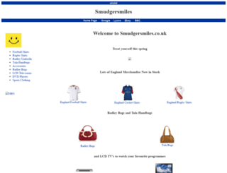 smudgersmiles.co.uk screenshot