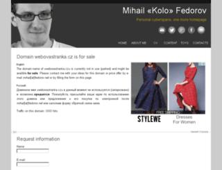 smudlak.webovastranka.cz screenshot