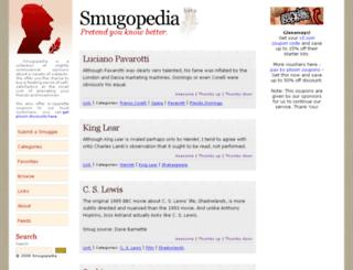 smugopedia.com screenshot
