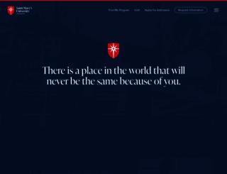 smumn.edu screenshot