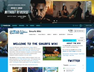 smurfs.wikia.com screenshot