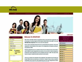 smustudy.com screenshot