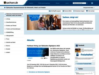 smwa.sachsen.de screenshot