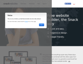 snackblogger.com screenshot