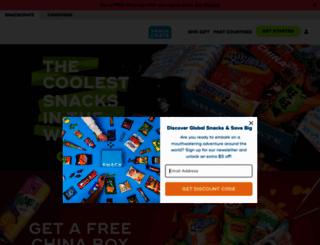 snackcrate.com screenshot