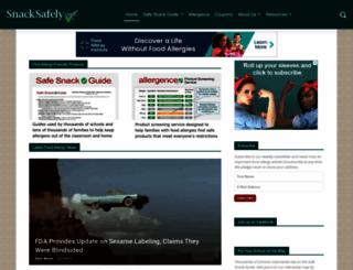 snacksafely.com screenshot