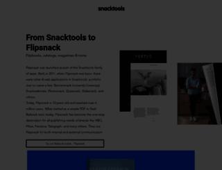 snacktools.com screenshot