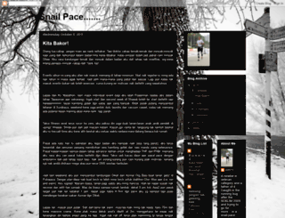 snailpace-ziff71.blogspot.com screenshot