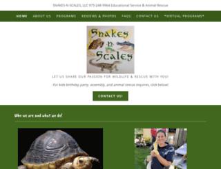 snakes-n-scales.com screenshot
