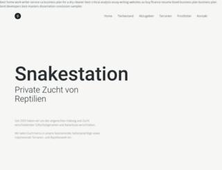 snakestation.politechnica.com screenshot
