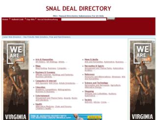 snaldealdirectory.com screenshot