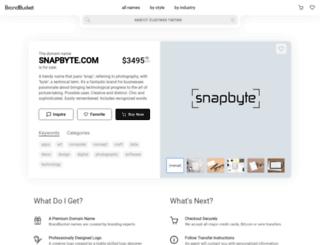 snapbyte.com screenshot